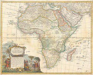 Africa map: Africa map: Hase
