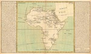 Africa map: Africa map: Clouet