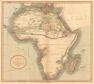 Africa map: Africa map: Cary