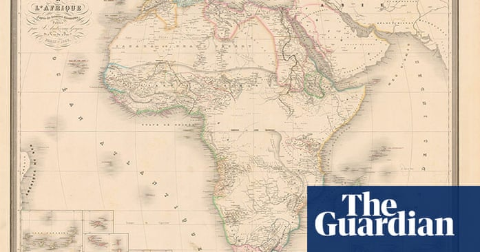 Map Of Africa 1850.Africa Mapped How Europe Drew A Continent News The Guardian