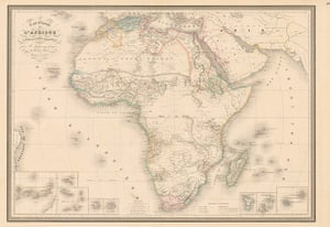 Africa map: Africa map: Andriveau1
