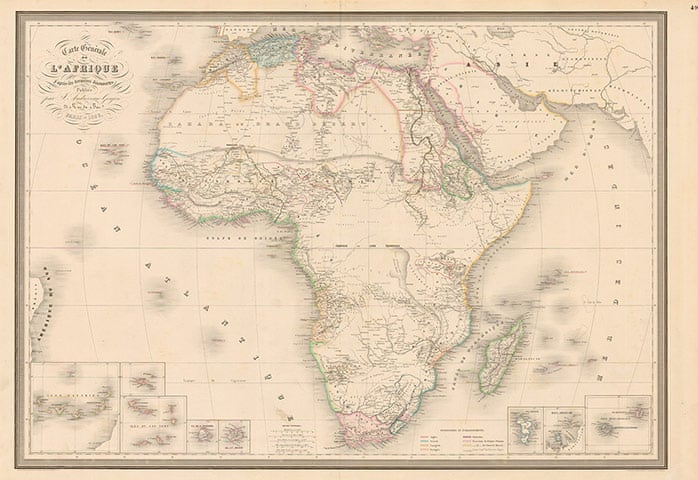 Africa mapped: how Europe drew a continent | News | The Guardian on map of ghana, map of continents, map of mediterranean, map of indonesia, map of saudi arabia, map of iran, map of middle east, map of yemen, map of uganda, map of morocco, map of ethiopia, map of world, map of tunisia, map of iraq, map of sudan, map of antarctica, map of libya, map of mali, map of tanzania, map of zimbabwe,
