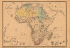 Africa map: Africa map: Andriveau2
