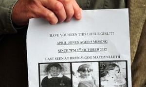 April Jones missing poster