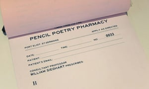poetry by prescription