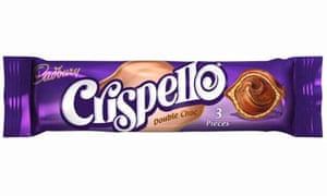 Cadbury Crispello, a new chocolate bar aimed at women