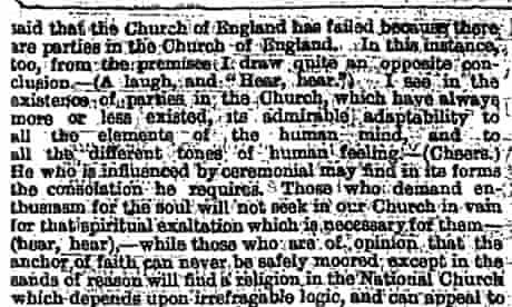 Disraeli One Nation speech 1872 part 3