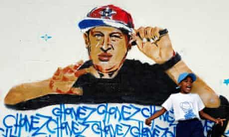 Chávez graffitti