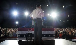 Mitt Romney at Denver rally