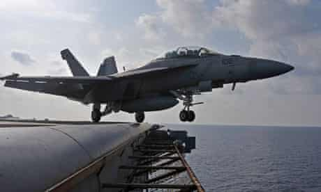 US carrier strike group cruises in South China Sea