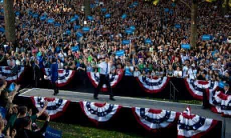 Barack Obama at Ohio University