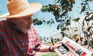 Cuban leader Fidel Castro