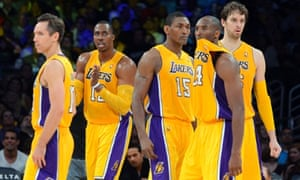38267ce8d Members of the Los Angeles Lakers