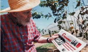 A handout picture provided by the Cubadebate website shows former Cuban president Fidel Castro holding the 19 October 2012 issue of Granma newspaper. This picture, taken by Fidel's son Alex, was published with a note from Castro stating his health is fine