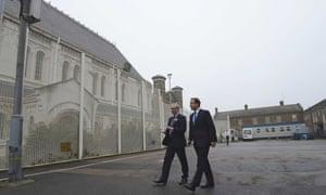 David Cameron at Wormwood Scrubs