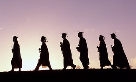 Graduates in Silhouette