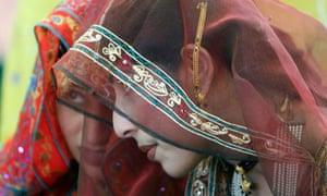 A Muslim bride