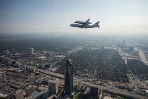 A month in Space: Space Shuttle Endeavour Ferried by Shuttle Carrier Aircraft