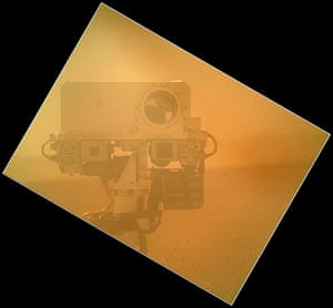 A month in Space: Rover Takes Self Portrait