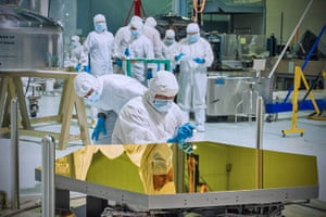 A month in Space: Webb telescope's first two flight mirrors