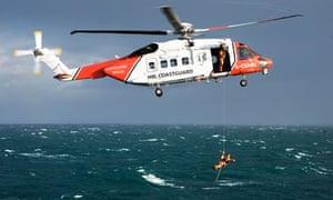 Coastguard North Sea