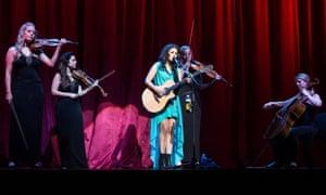 Girl power: British Katie Melua performs at Palais des Congres in Paris, France. Photograph: David Wolff - Patrick/Redferns via Getty Images