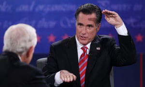 Mitt Romney compares the trade gab between China and the US in the final presidential debate.