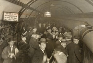Underground book: A crowded platform at Piccadilly Circus