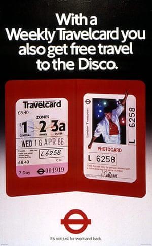 Underground book: Weekly travelcard poster