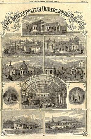 Underground book: Metropolitan Railway stations