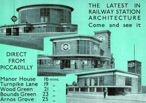 Underground book: Poster - the latest in railway station architecture