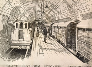 Underground book: Stockwell station, City & South London Railway
