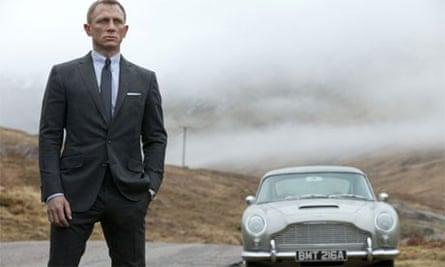 Skyfall, starring Daniel Craig