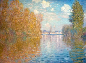 Autumn paintings: Autumn Effect at Argenteuil, by Claude Monet, 1873