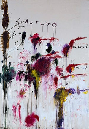 Autumn paintings: Cy Twombly