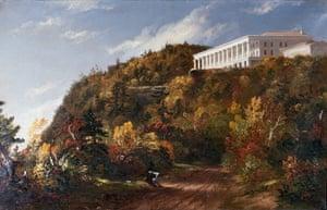 Autumn paintings: Catskill Mountain House