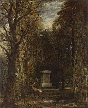 Autumn paintings: Cenotaph to the Memory of Sir Joshua Reynolds by John Constable