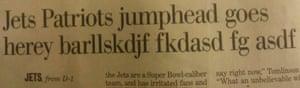 Just My Typo: Excited sports journo typo