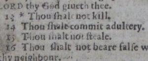 Just My Typo: Bible typo