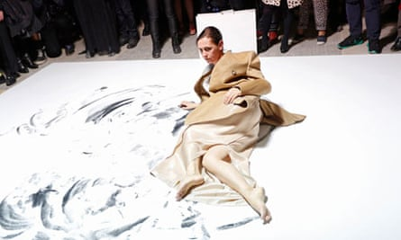 Perfomance for the Maison Martin Margiela with H&M Global Fashion Event in New York