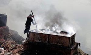 Toxic pollution: Tannery