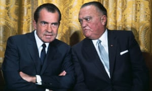J Edgar Hoover and Richard Nixon