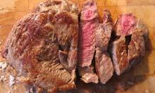 Cook's Illustrated recipe steak