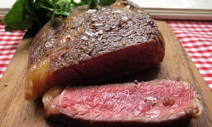 Felicity's perfect steak