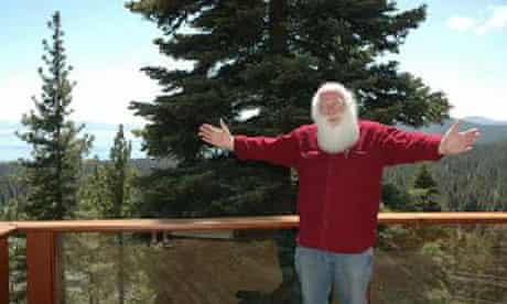 Independent presidential candidate Santa Claus