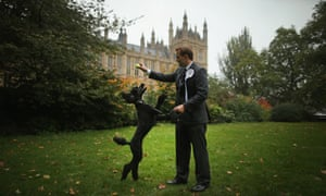Jake Berry, Conservative MP and dog
