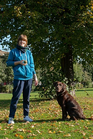 Dogs: Ali Mclean and Roxy