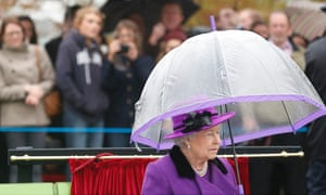 The Queen attends the official opening of the Jubilee Gardens on London's South Bank.