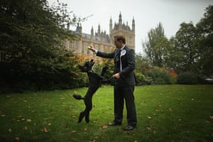 Westminster Dog: Jake Berry and his dog