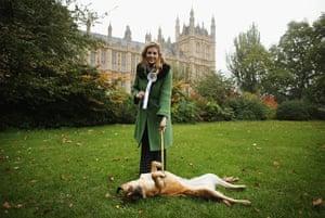Westminster Dog: Penny Mordaunt with her dog